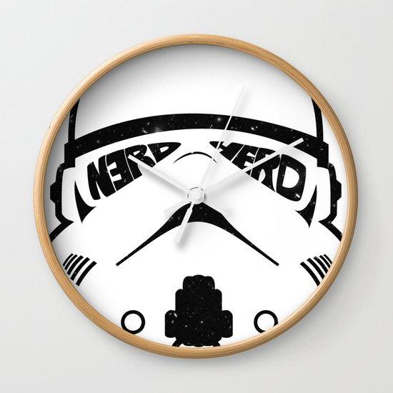 N3RD HERD Wall Clock