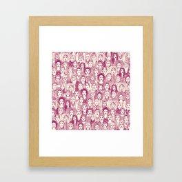 WOMEN OF THE WORLD CHERRY Framed Art Print