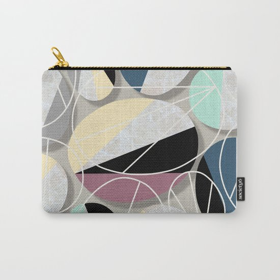 Stones and Outlines Carry-All Pouch
