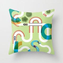 C A R S Throw Pillow