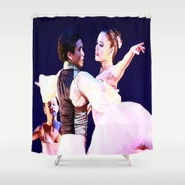 Passionate Ballet Love Shower Curtain