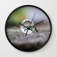 work hard Wall Clocks featuring Hard Work ! by Rakesh Rocky