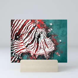 poisonous exotic lionfish ws2s Mini Art Print