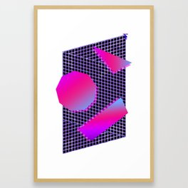 New 80s Wave 1984.19.001 Framed Art Print