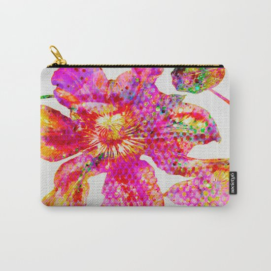 glittering clematis Carry-All Pouch