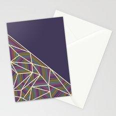 B Rays Geo 3 Stationery Cards