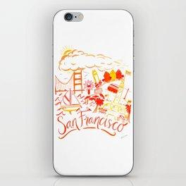 City of San Francisco iPhone Skin