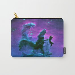 Nebula Purple Blue Pink Carry-All Pouch