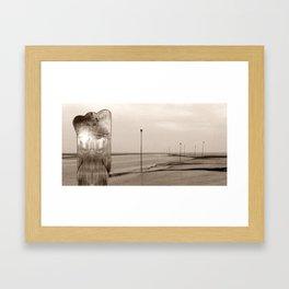 NORTHSEA ANGEL Framed Art Print