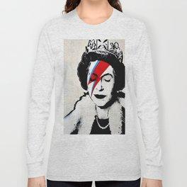 Banksy, Queen Long Sleeve T-shirt