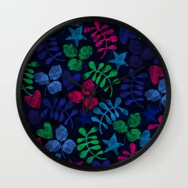 Floral #৩ Wall Clock