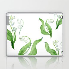lily of the valley Laptop & iPad Skin