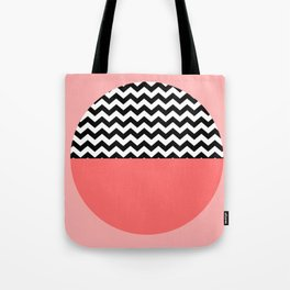 Moiety Pink Tote Bag