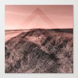 Tales of Wonder, Chevron Pattern, Sand Dunes Canvas Print