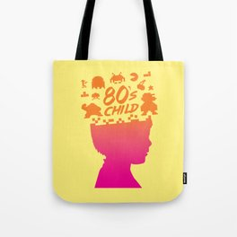 80s child Tote Bag