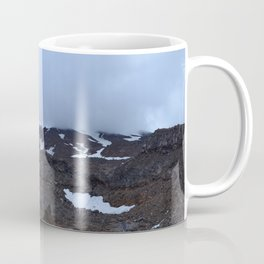 Storm moving over Mount Ruapehu. Coffee Mug