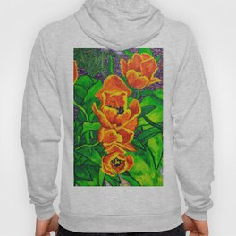 View of Tulips Hoody