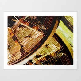 industrial fans Art Print