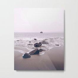 Malibu Coast, Ocean Metal Print