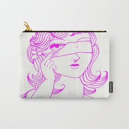 Steph Darling Tattoos Designed at The Nines Tattoo and Art Parlor  Carry-All Pouch