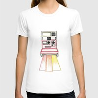 polaroid T-shirts featuring Polaroid by Ilariabp.art