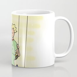 Little Prince on Swing Coffee Mug