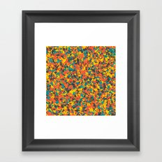 Panelscape: colours from Space Filler Framed Art Print