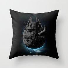 Stealth Falcon Throw Pillow