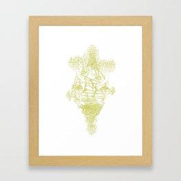 Hong Kong Garden Framed Art Print