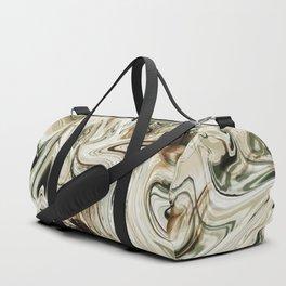 Brown Marble Duffle Bag