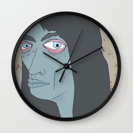 witch hell Wall Clock