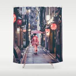 Geisha In Kyoto Shower Curtain