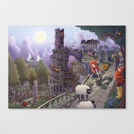 The Tower of Beezl Canvas Print