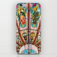 Victorian Carousel Swings Art Detail iPhone & iPod Skin