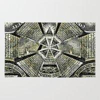 illuminati Area & Throw Rugs featuring Illuminati by Brandon Combs - Glitz & Grime