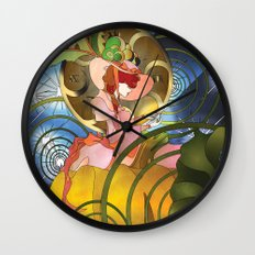 The Stroke of Midnight Wall Clock