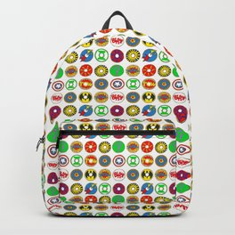 Superhero Donuts Backpack