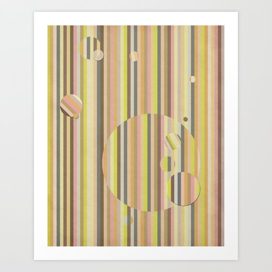 Color Me//Two Art Print