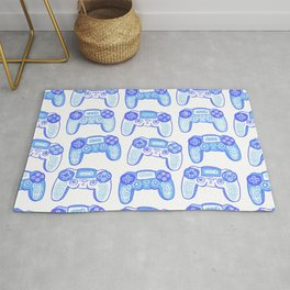 Ornament with joystick Gaming Controller  Rug
