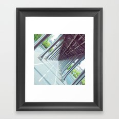 Never-Ending Bridge. Framed Art Print