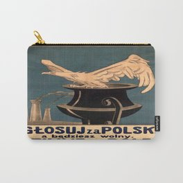 Vintage poster - Poland Carry-All Pouch