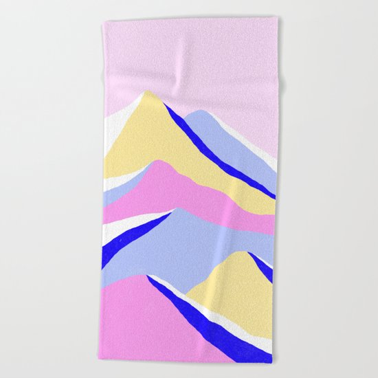 Up Beach Towel