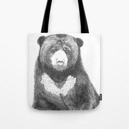 Malayan Sun Bear (Beruang Madu) Tote Bag
