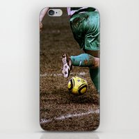 football iPhone & iPod Skins featuring Football by Goncalo