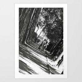 Lover's Lane Art Print