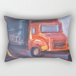 Keep Truckin' Rectangular Pillow