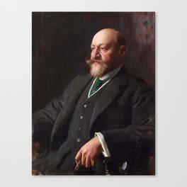 ANDERS ZORN, SIR ERNEST CASSEL (1852-1921). Canvas Print