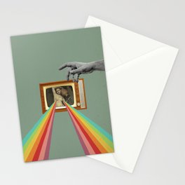 Tits on TV Stationery Cards
