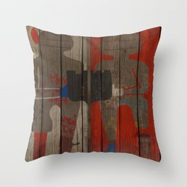 Art street, Napoli 2 Throw Pillow