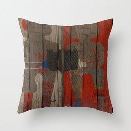 Art street, Napoli 2 Throw Pillow